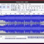 Instalacja Audacity audio editor na Ubuntu 20.04